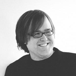 Christian Ihle Hadland i svartvitt