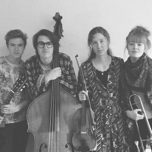Lemon Trip från Musikkonservatoriet Falun ger konserten Swingjugend