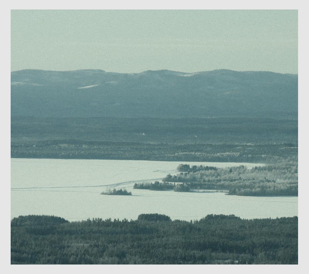 Utsikt över Orsasjön